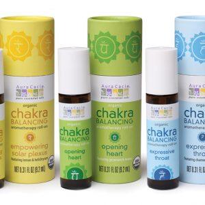 Organic Chakra Balancing Roll-on
