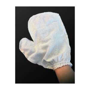 Amazing Raw Silk Garshana Gloves