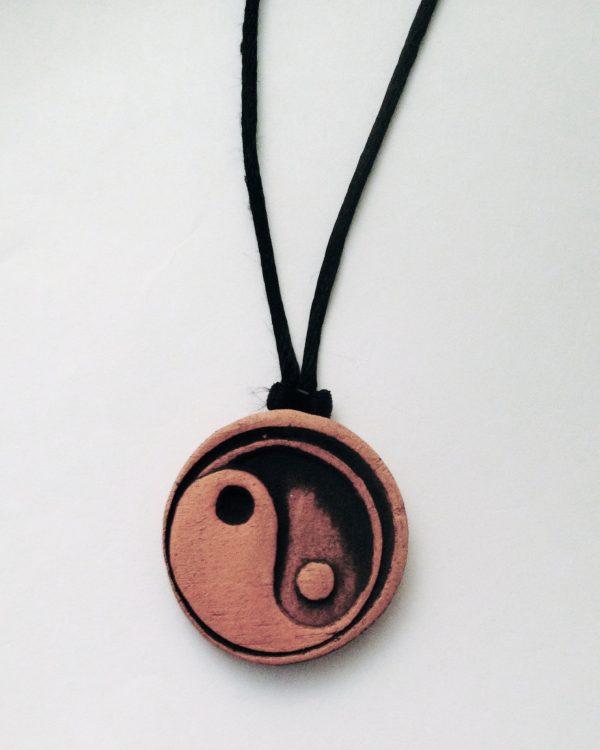 Yin Yang Aromatherapy Pendant Necklace