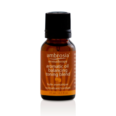 Ambrosia Aromatherapy Aromatic Oil Balancing/Toning Blend