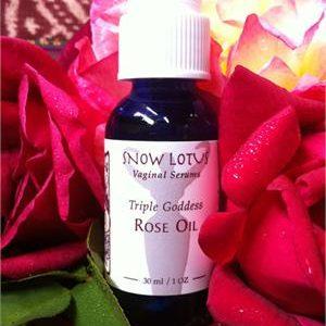 Triple Goddess Rose Oil Vaginal Serum