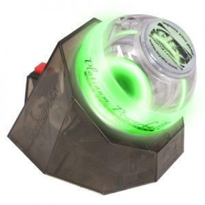 Power Platinum Gyro Exerciser w/ Green Lights & PowerDock