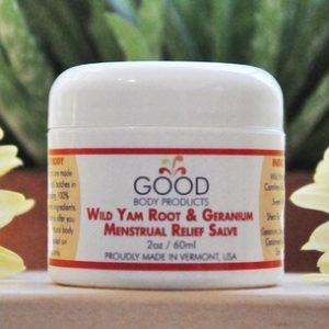 Wild Yam Root & Geranium Menstrual Relief Salve