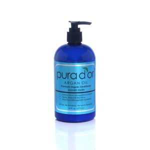 Pura d'or Premium Organic Argan Oil Based Hair Loss Prevention Therapy Shampoo