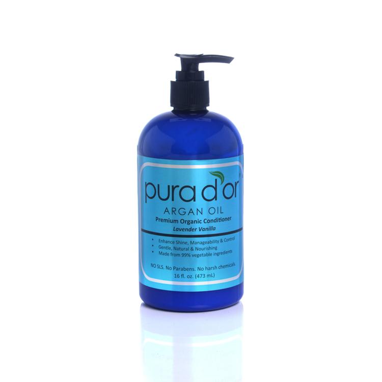 Pura d'or Premium Organic Argan Oil Based Hair Loss Prevention Therapy Shampoo