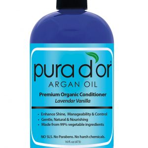 Premium Organic Argan Oil Based Conditioner, Lavender Vanilla