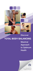 Discover Total Body Balancing Brochures