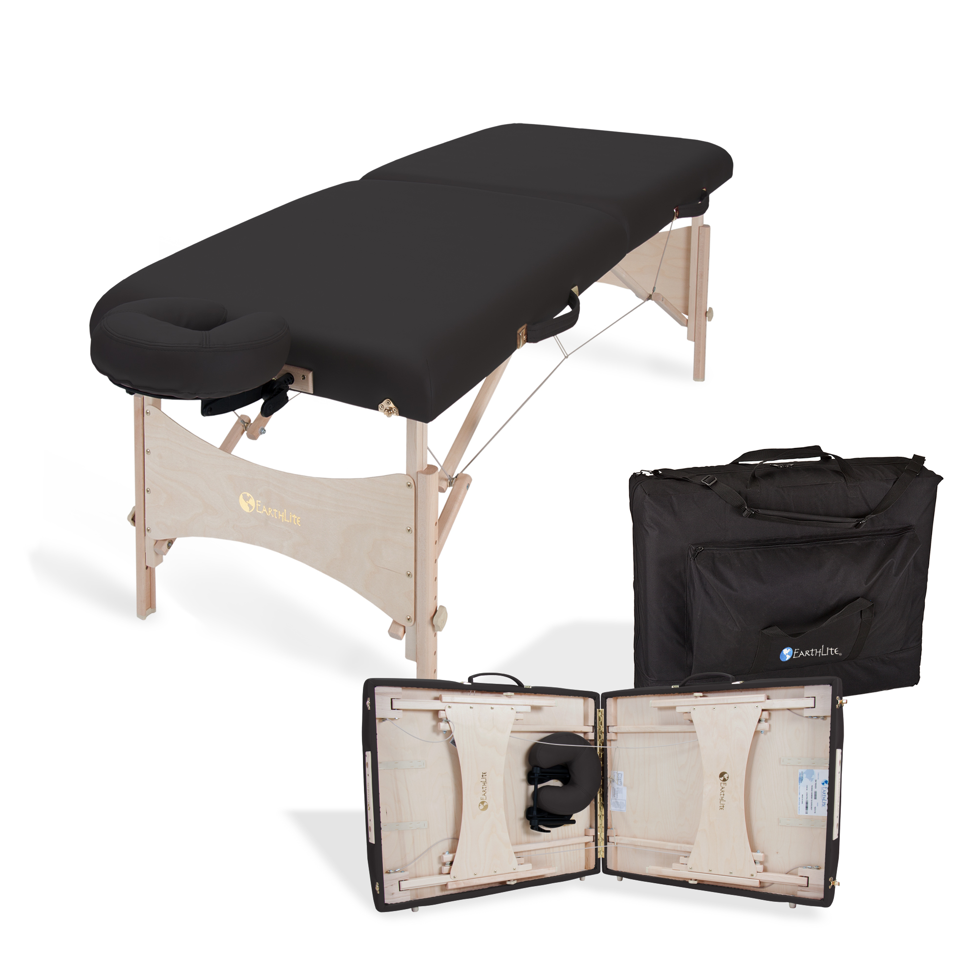 Harmony dx portable massage table package products for Massage table