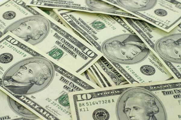 10-dollar bills