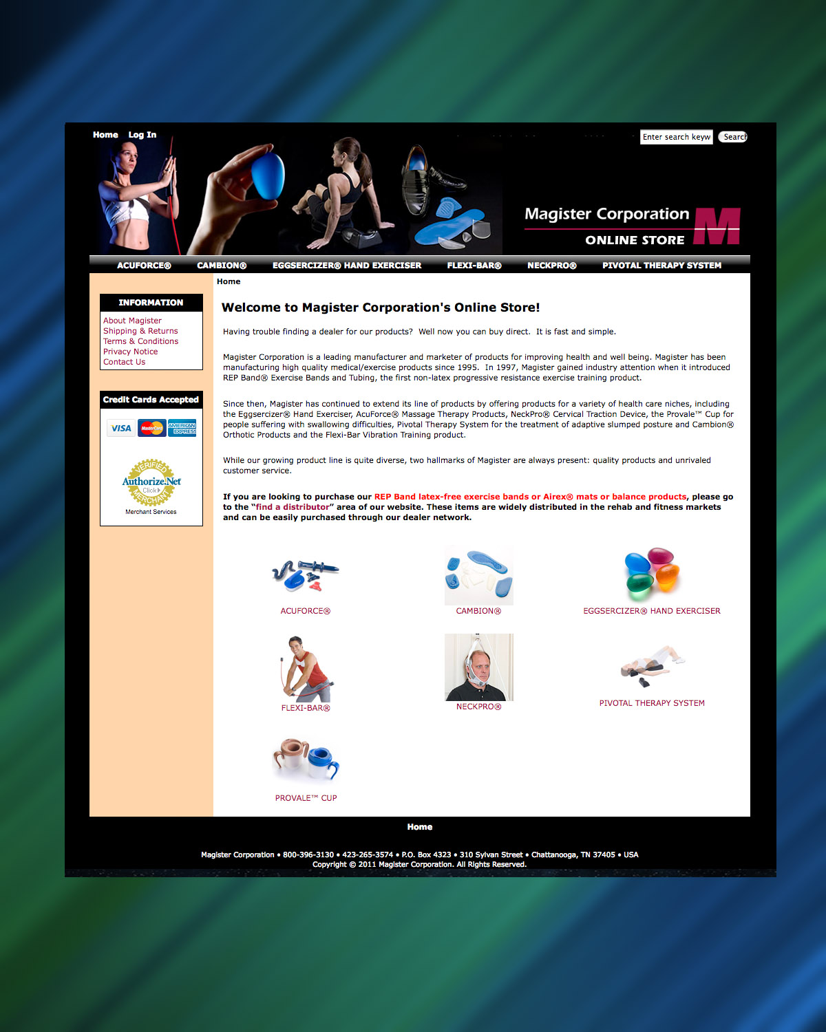 Magister Corporation Launches E-Commerce Site to Promote Wellness Products, MASSAGE Magazine