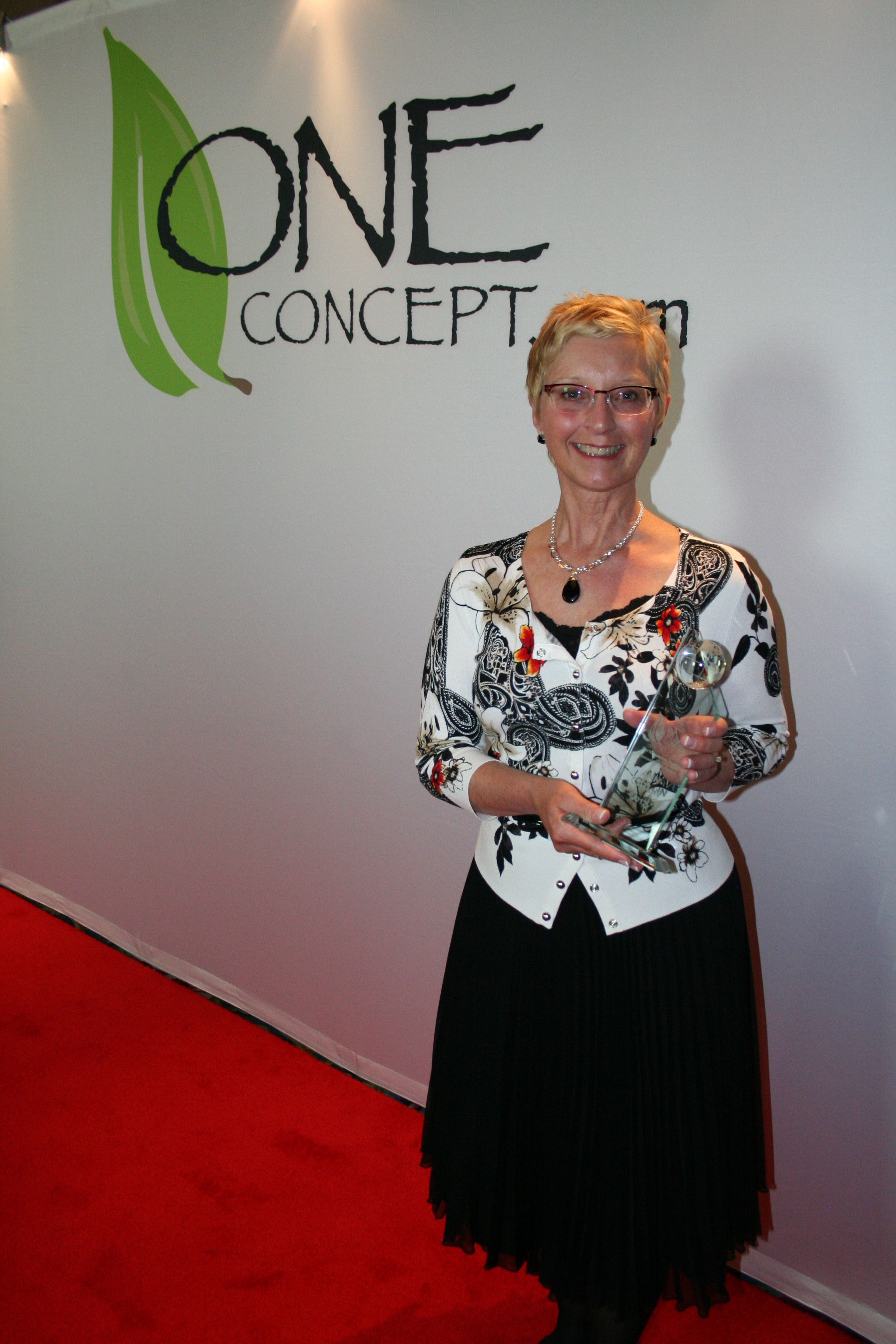 Ann Catlin Receives the 2012 One Concept Humanitarian Award, MASSAGE Magazine