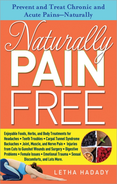New Book Release: Leading Expert on Natural Healing Remedies Releases 'Naturally Pain Free', MASSAGE Magazine