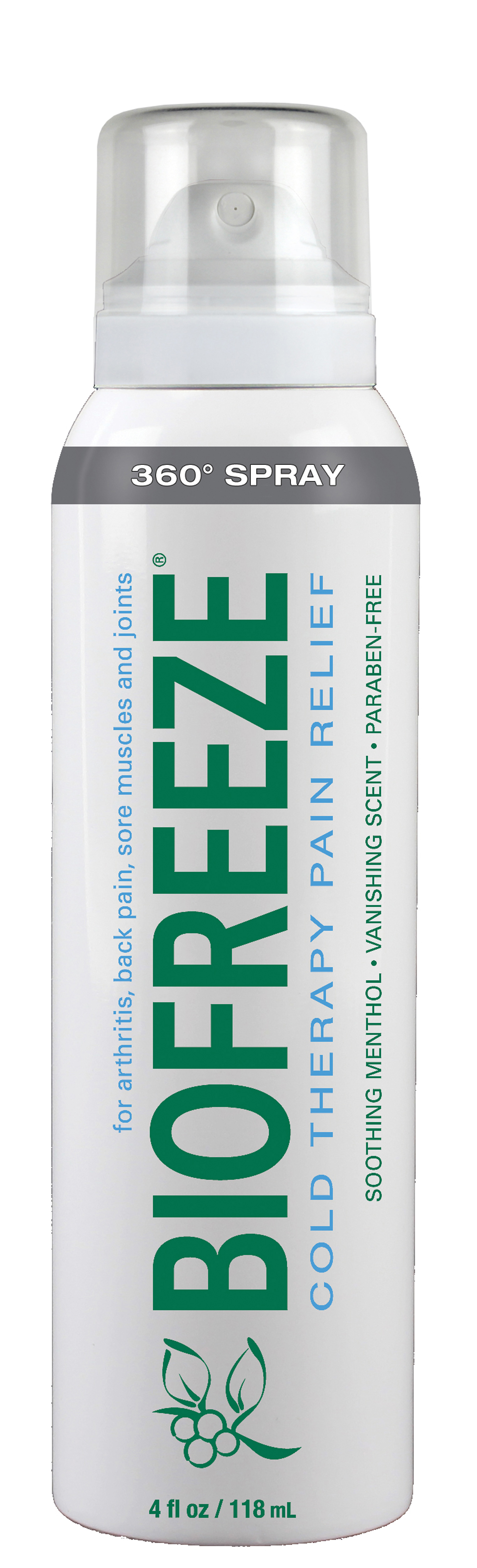 Performance Health Introduces New Biofreeze 360°™ Spray, MASSAGE Magazine