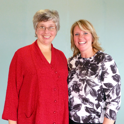 Current MTF President Ruth Werner (Left) and MTF President-Elect Jerrilyn Cambron