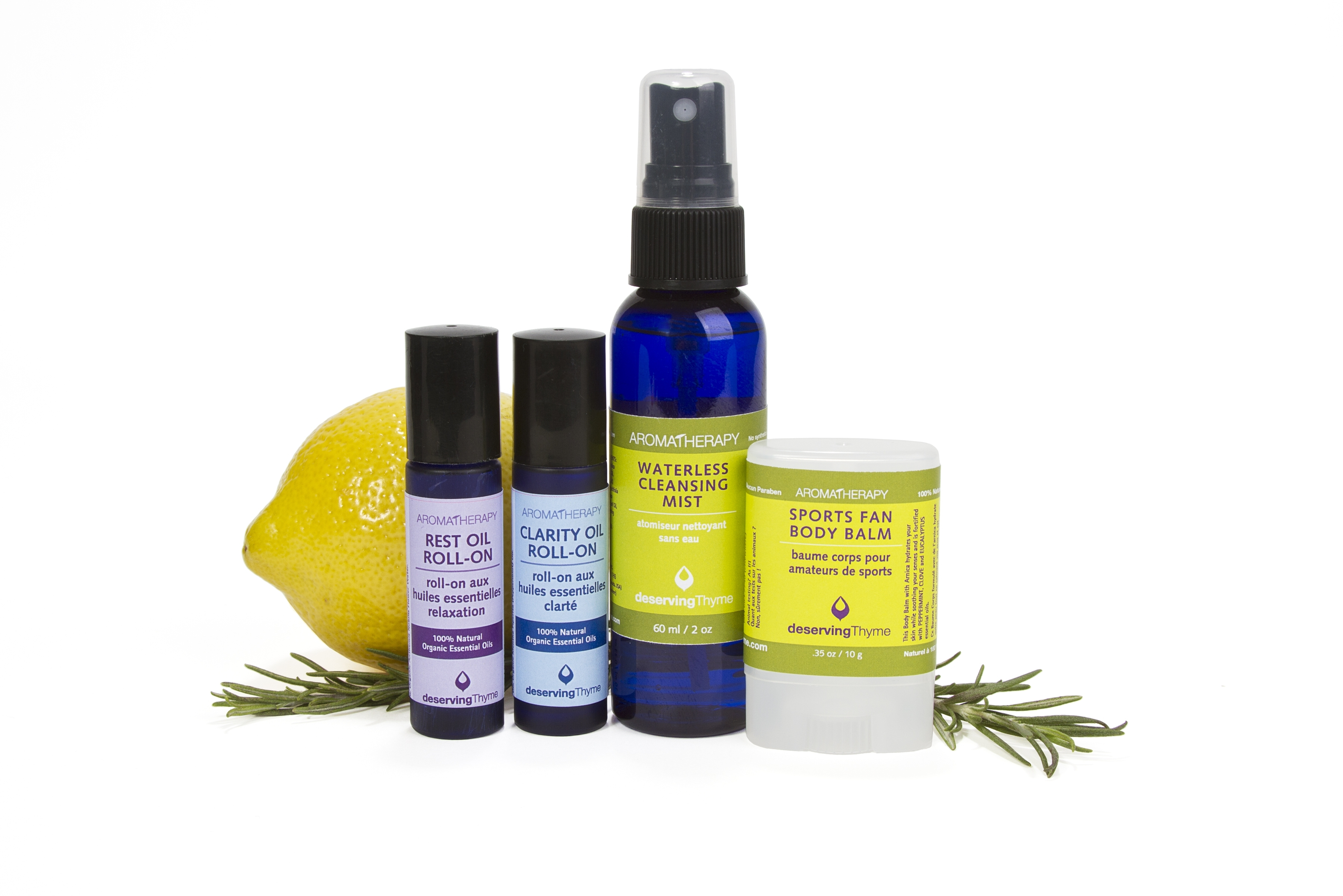 Deserving Thyme Launches Line of 100% Natural Aromatherapy Wellness Roll-Ons, MASSAGE Magazine