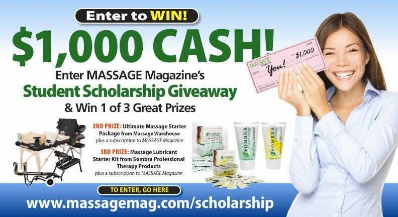 New Massage Student Scholarship Launched, MASSAGE Magazin