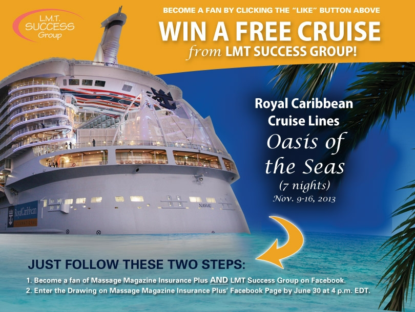 Win a Caribbean Cruise and Earn Massage Continuing Education Credits, MASSAGE Magazine