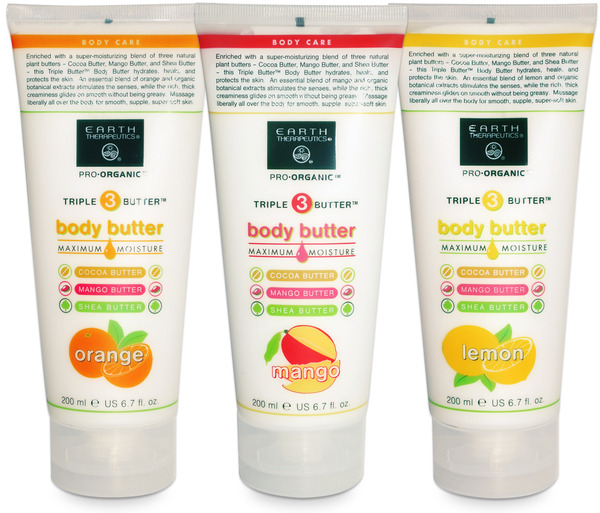 Earth Therapeutics Launches New Triple Butter Body Butters, MASSAGE Magazine