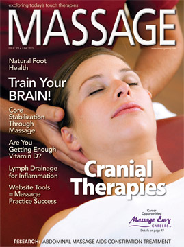 Far-Infrared Saunas and Lymphatic Massage: A Healing Combination, MASSAGE Magazine