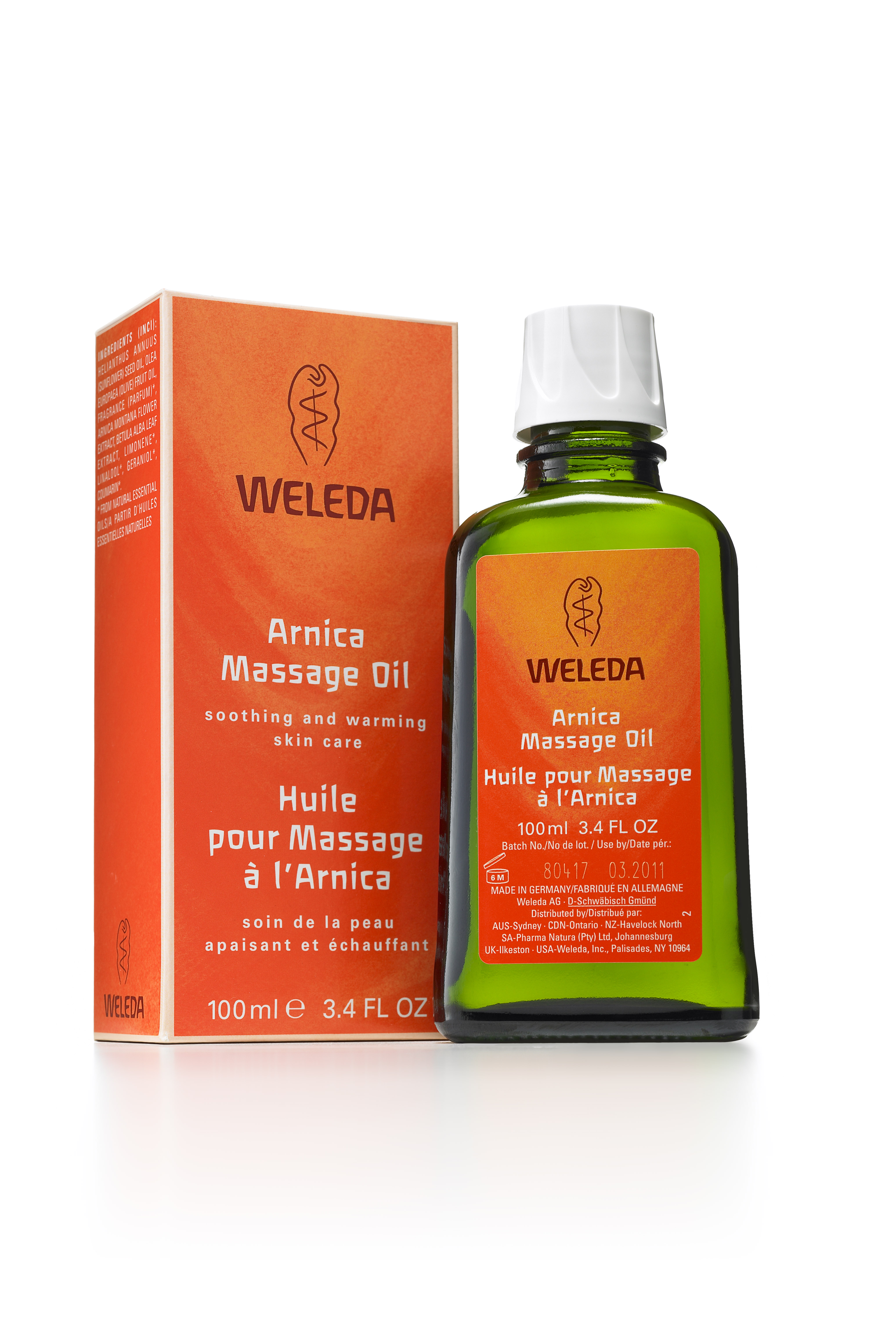 Weleda Arnica Massage Oil Celebrates Milestone Anniversary, MASSAGE Magazine