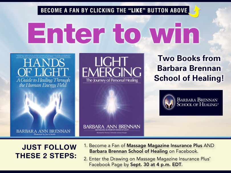 Massage Therapists: Empower Yourself and Clients with Books on Healing in September Giveaway, MASSAGE Magazine