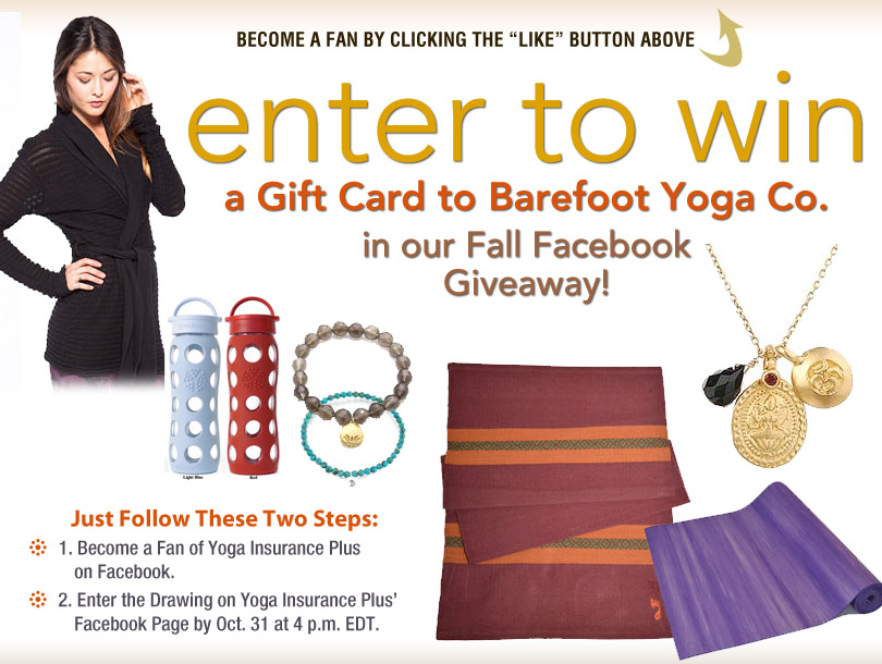Yoga Teachers: Win Up to $300 in Gift Cards to Barefoot Yoga Co., MASSAGE Magazine