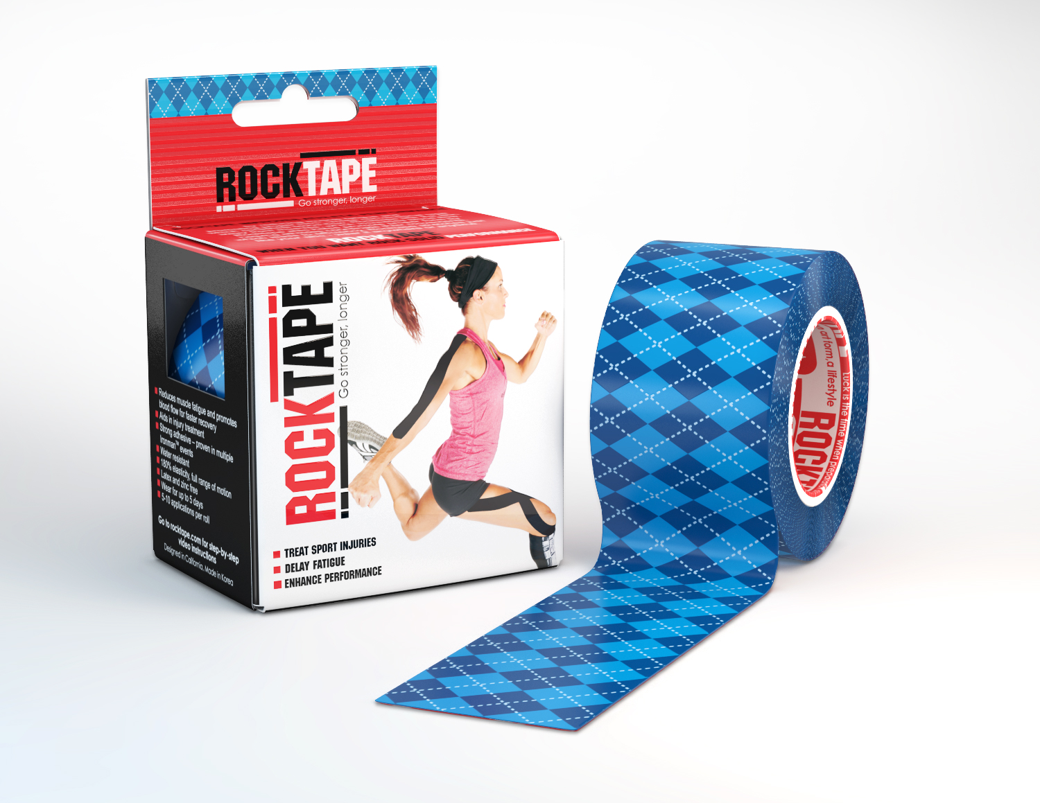 Rocktape: Kinesiology Tape Designed to Enhance Sports Performance and Recovery, MASSAGE Magazine