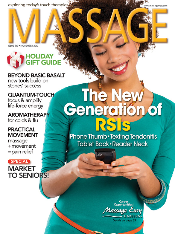 Client Homework to Combat Tech Woes, MASSAGE Magazine