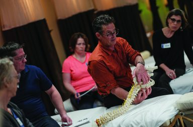 Til Luchau developed Advanced Myofascial Techniques, and presents his trainings in workshops held all over the world.