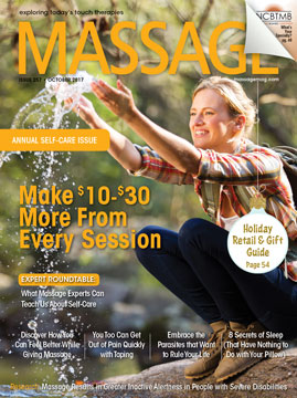 October 2017 MASSAGE Magazine
