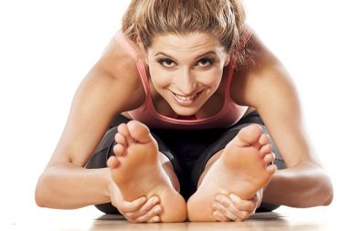 Acu-Yoga combines the art of pressing on pertinent acupressure points while maintaining a yoga stretch at the same time