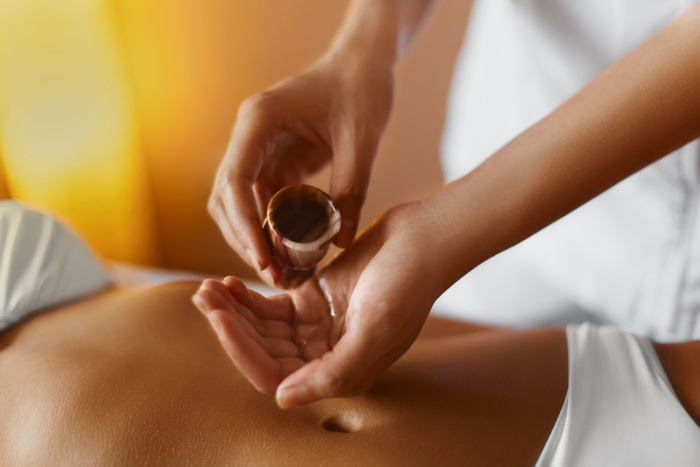 frankincense ancient herb massage oil