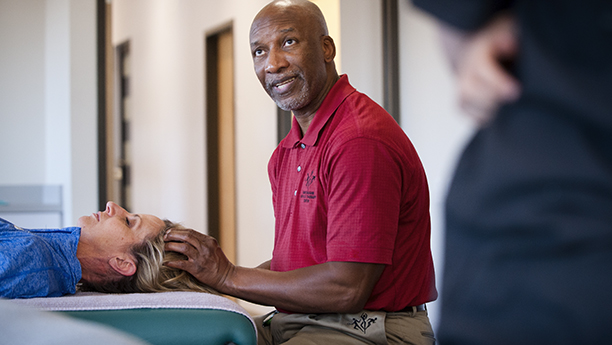 sports massage - Benny Vaughn Athletic Therapy Center