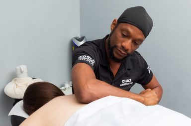 U.S. massage therapist Chaz Armstrong won the gold medal in chair massage and a silver medal in overall best massage at the World Championship in Massage 2021 competition in Copenhagen, Denmark.
