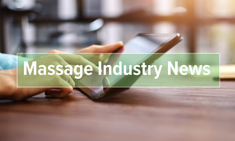 This selection of massage news articles will help you keep on top of what's happening in your industry.