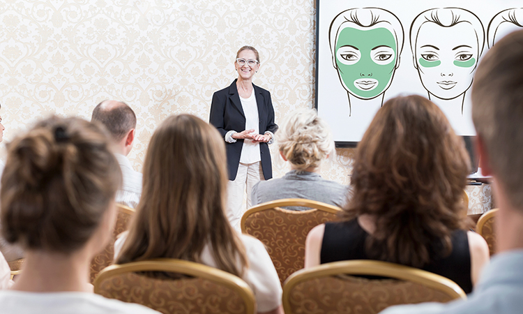 Potential massage clients want to learn about how massage therapy can help them, whether for pain relief or general wellness, and it makes sense for you to share your knowledge by giving informative presentations on your areas of expertise with public speaking