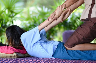 Pain intensity and functional disability decreased significantly among people with chronic nonspecific low back pain after receiving either Thai massage therapy or joint mobilization twice a week for four weeks, according to recent research.