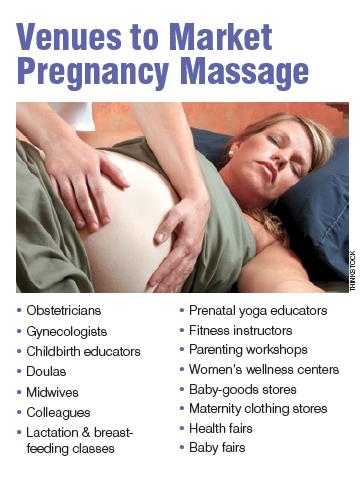 marketing ideas for pregnancy massage