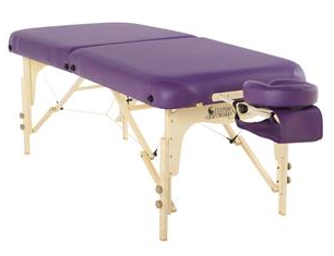 Added Upgrades, Such As Rounded Corners And Extra Stability From Dual Knob  Construction, Make The Heritage Portable Massage Table An Exceptional Value.