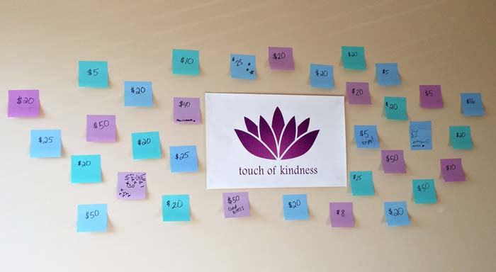 Touch of Kindness wall