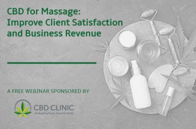 cbd for massage webinar