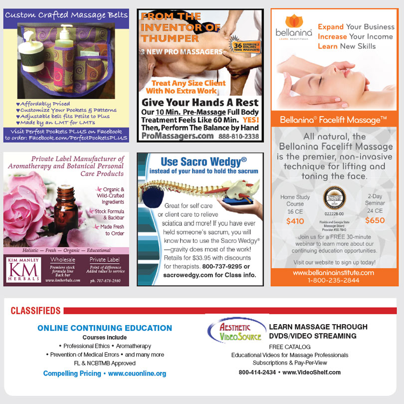Massage Classifieds