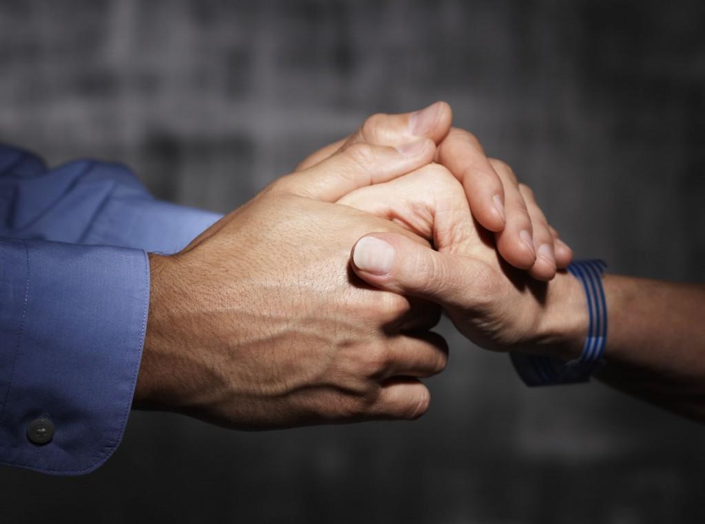 men show compassion