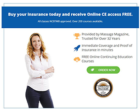 Get Insured Today - MASSAGE Magazine