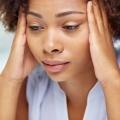 woman needs headache help