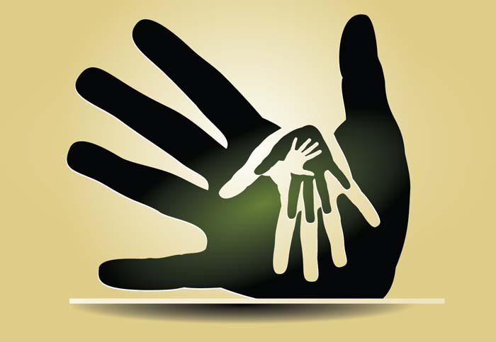 pay it forward hands