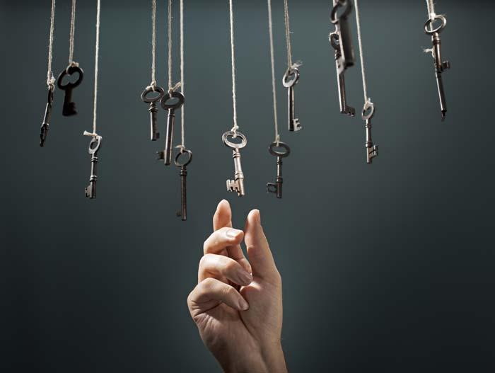 keys for unlocking emotional pain