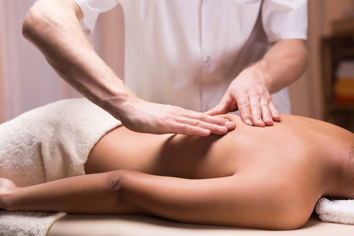 massage therapy for relief of pain