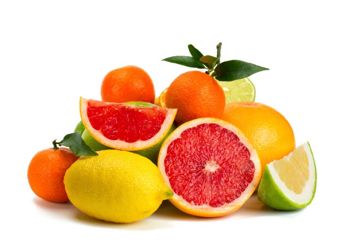 benefits of vitamin c - citrus fruit