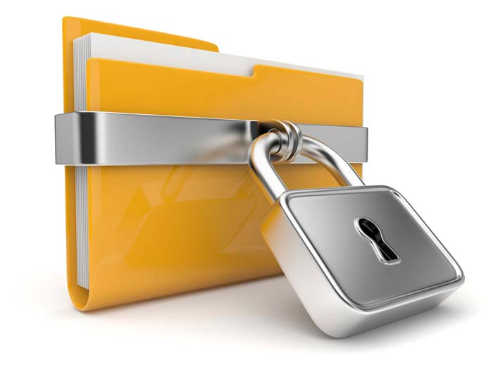 secure data per hipaa requirements